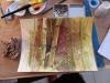 «Les bambous», aquarelle et encre sur papier Canson, 2012