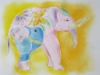 éléphant (transfert d\'image)