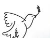 l'oiseau de paix_feutre