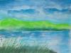 Un paysage à l'aquarelle