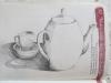 Théière, tasse, soucoupe, page 52