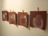 «Les bols», crayon gras sur papier Canson, 2011