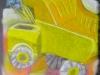 «Le camion», pastel sèche, 2011
