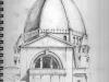 «Oratoire St-Joseph», graphite, 2011