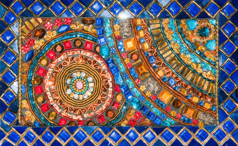 Les ateliers c mandala for Peinture mosaique