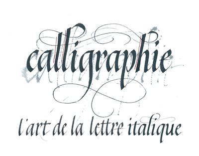 Calligraphie visuel