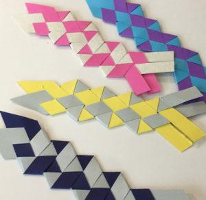 Tressage de papier